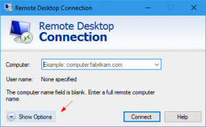 Remote-Desktop-Connection-Show-Options