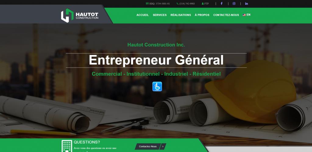Lab360 - Hautot Construction Website