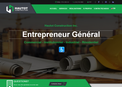 Lab360 - Hautot Construction Website
