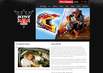 Lab360 - Kini Red Bull Website
