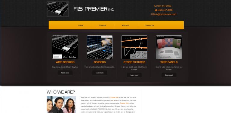 Lab360 - Premierwire Website