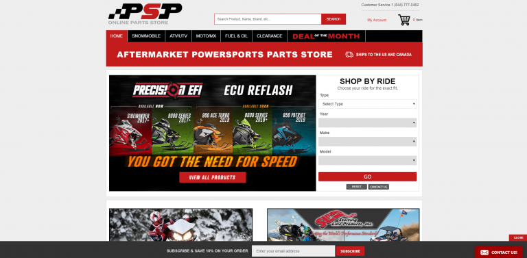 Lab360 - Powersports Performance Website