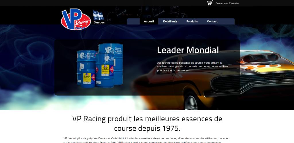 Lab360 - VPFuelsQuebec Website