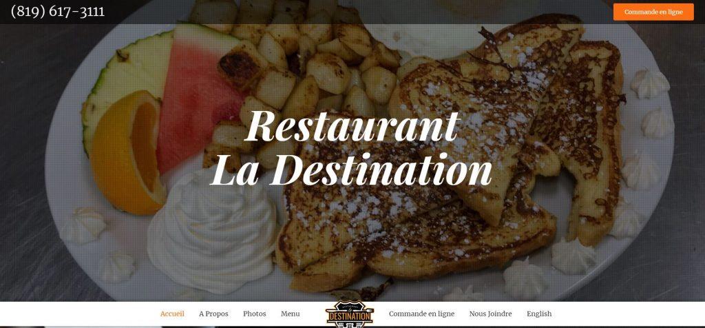 Lab360 - Restaurant La Destination